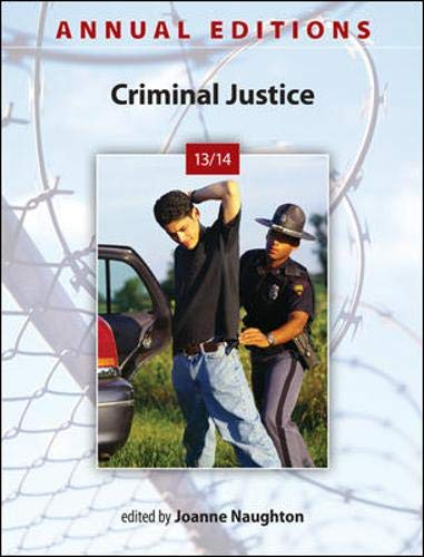 9780078136092: Annual Editions: Criminal Justice 13/14