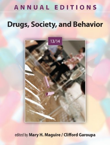 9780078136108: Annual Editions: Drugs, Society, and Behavior 13/14 (Annual Editions: Drugs, Society & Behavior)