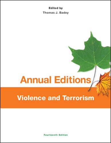 9780078136238: Annual Editions: Violence and Terrorism, 14/e