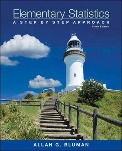 9780078136337: Elementary Statistics: A Step-by-Step Approach with Formula Card