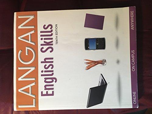 By McGraw Hill Langan English Skills ENG 091/ESL 097 GCC Ed. (10th) [Paperback]: John Langan