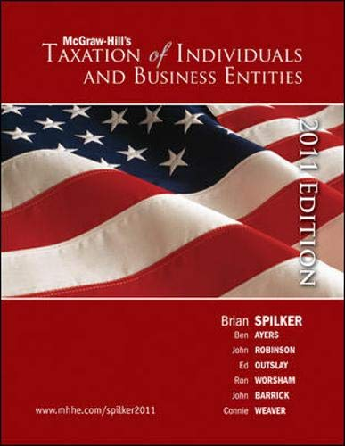 9780078136702: Taxation of Individuals and Business Entities, 2011 edition