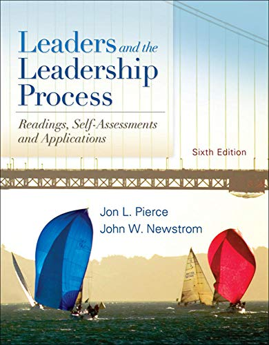 9780078137105: Leaders and the Leadership Process (Irwin Management)