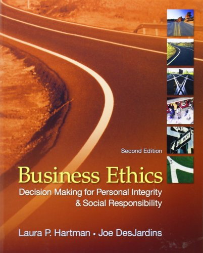 9780078137136: Business Ethics: Decision-Making for Personal Integrity & Social Responsibility