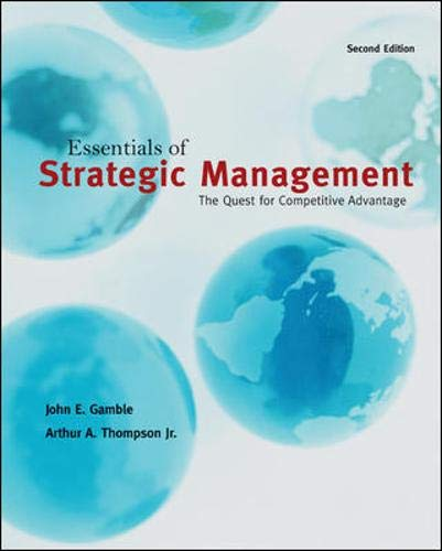 9780078137143: Essentials of Strategic Management: The Quest for Competitive Advantage