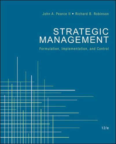 9780078137167: Strategic Management