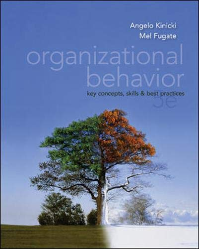 9780078137204: Organizational Behavior: Key Concepts, Skills & Best Practices