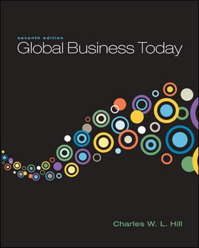 9780078137211: Global Business Today