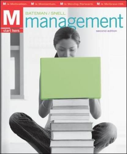 9780078137235: M: Management