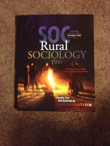 9780078137327: SOC: Rural Sociology 1500