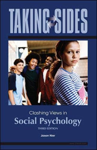 9780078139413: Taking Sides: Clashing Views in Social Psychology