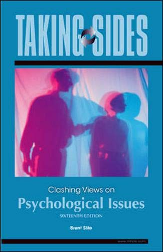 9780078139420: Taking Sides: Clashing Views on Psychological Issues
