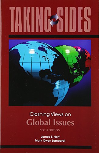 9780078139468: Taking Sides: Clashing Views on Global Issues
