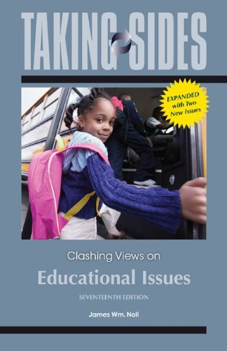 9780078139505: Taking Sides: Clashing Views on Educational Issues, Expanded