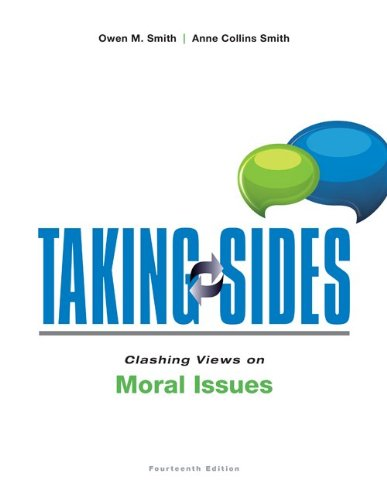 9780078139512: Taking Sides: Clashing Views on Moral Issues