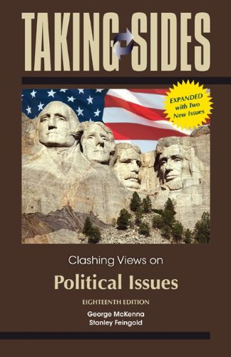 9780078139529: Taking Sides: Clashing Views on Political Issues, Expanded