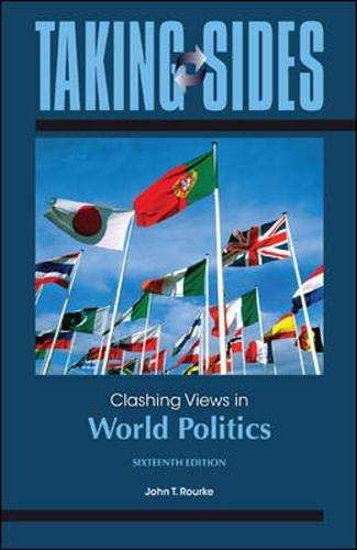 9780078139543: Taking Sides: Clashing Views in World Politics