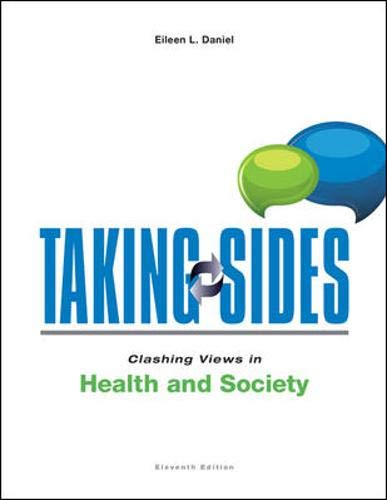 9780078139567: Taking Sides: Clashing Views in Health and Society (Taking Sides : Clashing Views on Health and Society)