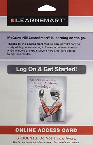 9780078139697: LearnSmart Standalone Access Card for Longenbaker Understanding Human Anatomy & Physiology 8e