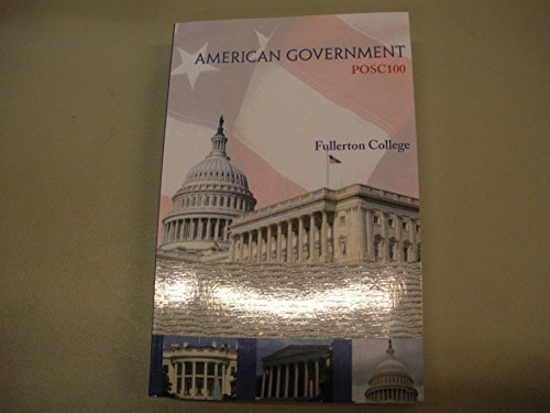 9780078140594: We The People 10th Edition American Government POSC100 Custom Edition for Fullerton College