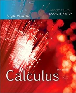 9780078166365: Calculus Single Variable Third Edition with Student's Solutions Manual