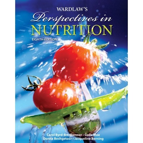 9780078189937: Wardlaw's Perspectives in Nutrition with NutritionCalc Plus Online