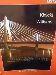 9780078202124: Management, a Practical Introduction (Custom Edition for Clemson University MGT 201)