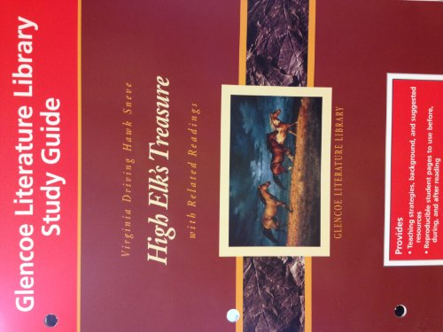 9780078203671: Study Guide for High Elk's Treasure with Related Readings (Glencoe Literature Library, Grade 8)