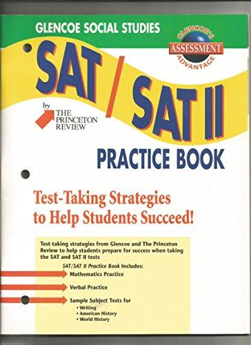 9780078203978: SAT / SAT II Practice Book (Glencoe Social Studies)
