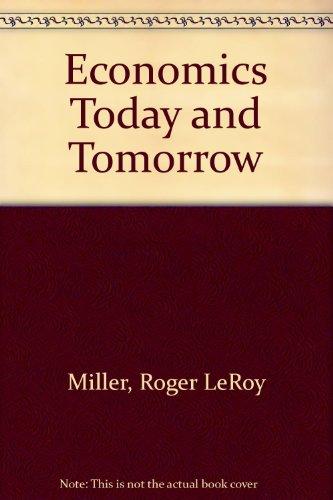 9780078204906: Economics Today and Tomorrow: Teacher's Wraparound Edition