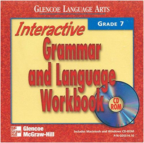 9780078205514: Interactive Grammar and Language CD-Rom Workbook, Grade 7