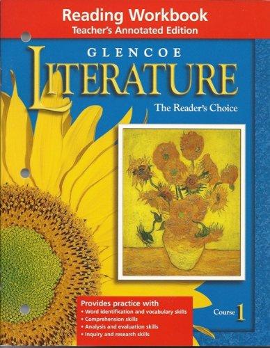 9780078205750: Glencoe Literature The Reader's Choice Reading Workbook