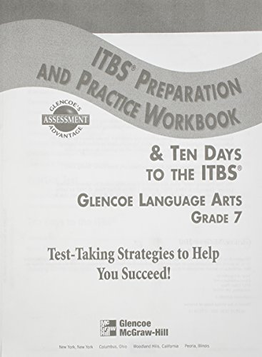 9780078205880: ITBS Preparation and Practice Workbook, Grade 7 (Language Arts)