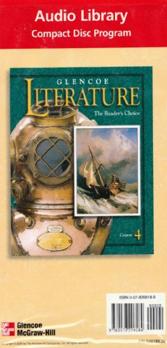 9780078206184: Glencoe Literature Course 4 Audio Library (The Reader's Choice, 21 Audio CD Set)