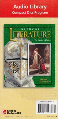 9780078206214: Glencoe Literature Audio Library: British Literature (31 Disc Set)