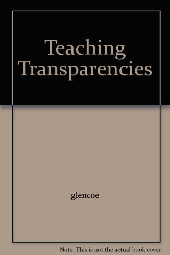 9780078207358: Teaching Transparencies