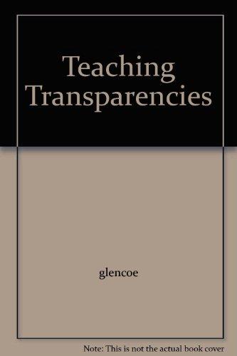 9780078207358: Teaching Transparencies