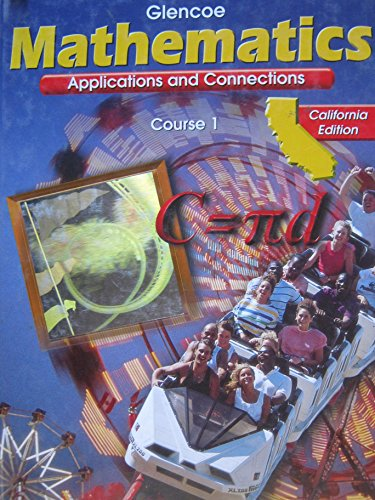 9780078212178: Mathematics Applications and Connections Course 1 (California Edition)
