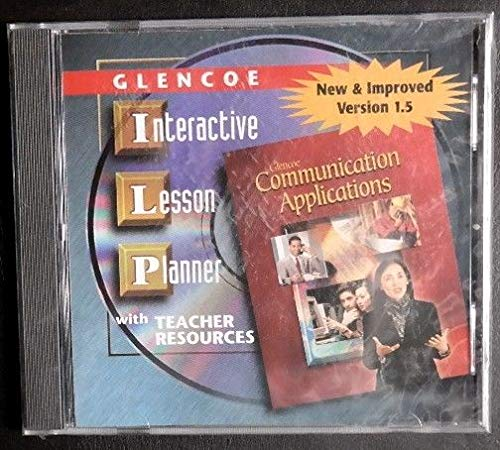 Glencoe: Communication Applications - Interactive Lesson Planner with Teacher Resources CD-ROM: ...