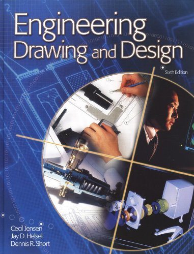 9780078213434: Engineering Drawing and Design, Student Edition with CD-ROM