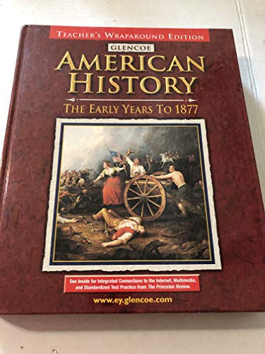 9780078216121: Glencoe American History, the Early Years to 1877