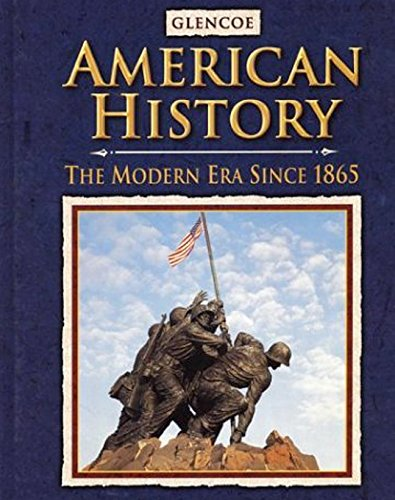 9780078216138: American History: The Modern Era Since 1865, Student Edition