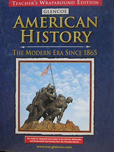 9780078216145: Mcgraw Hill American History Modern Era Since 1865 Teacher Edition 2001 Isbn 0078216141