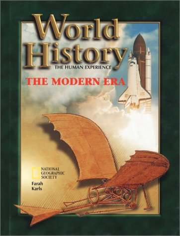 9780078216176: World History: The Modern Era, the Human Experience