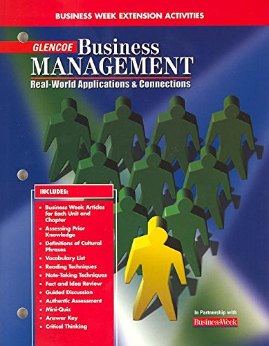 9780078216244: Business Management: Real-Worl