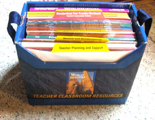 9780078216657: World History Human Experience Teacher Resource Set 2001