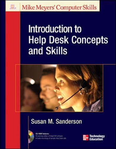 9780078216770: Introduction to Help Desk Concepts and Skills