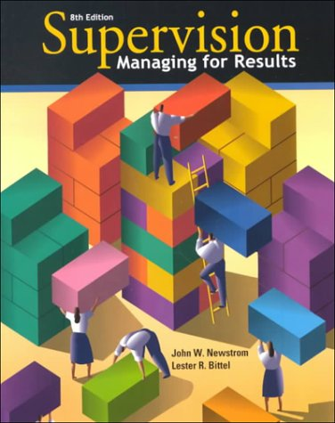 9780078222801: Supervision: Managing for Results