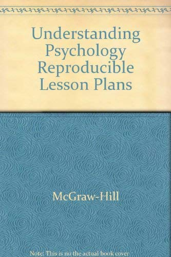 Understanding Psychology: Reproducible Lesson Plans (2003 Copyright): Staff