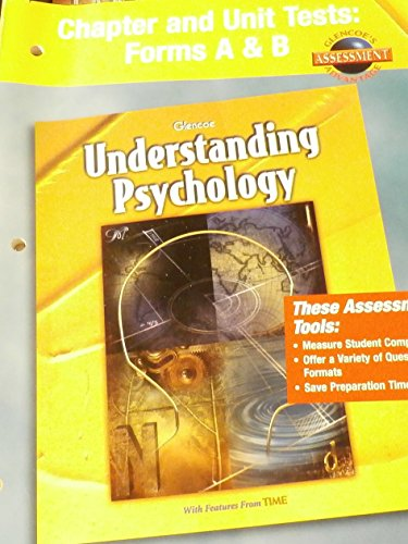 9780078223884: Understanding Psychology Chapter and Unit Tests: Forms A and B